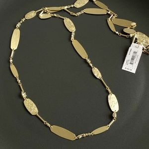 NEW Kendra Scott Claret Long Strand Necklace